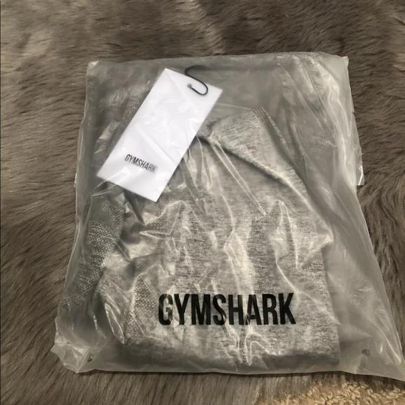 Gym Shark Flex Leggings- Khaki/ Marl